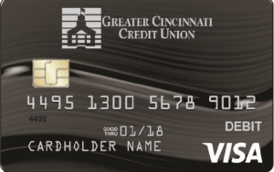 CREDIT UNION DEBIT CARD