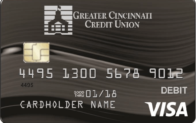 (click to learn more about GCCU's EMV Chip Visa Debit Card)