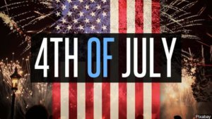 FOURTH OF JULY HOLIDAY